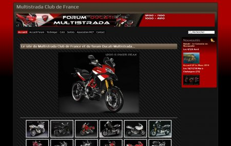 Multistrada Club de France